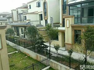 景盛豪庭二期别墅前后带边花园300平方直接看房价钱实惠