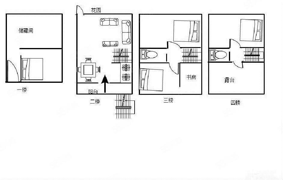 锦绣家园大四房全新豪装248平带大露台好房仅此一套