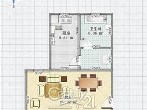 《C21》富田小区实小学有证首付13万即可送储藏室!
