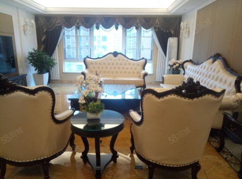 碧桂园大平层五室俩厅四卫豪华装修户型方正采光好手慢