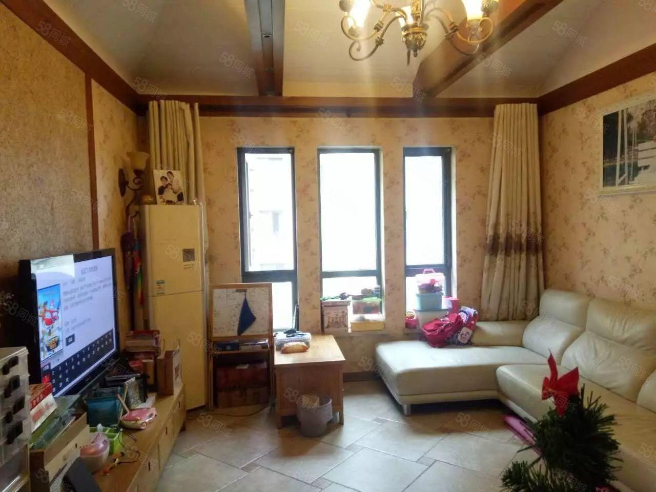 普罗旺世唯一户型,105平送阁楼,豪装装修,双气地暖,急售