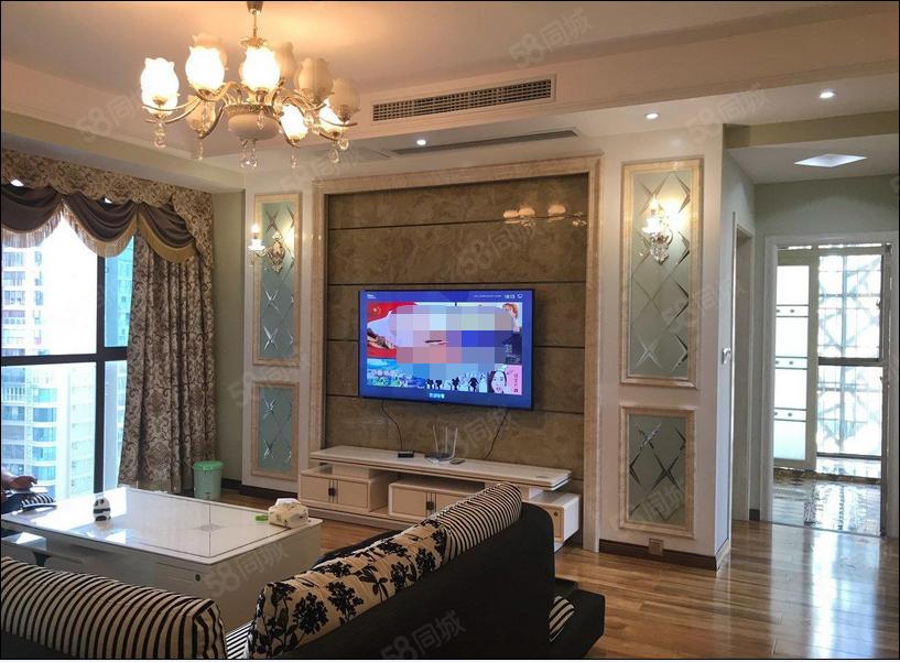 翰林名苑三室全中央空调家具家电齐全真实照片豪华装修