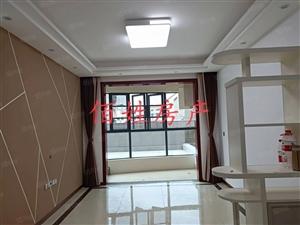 中央山水三室二厅带大平台全新精修未入住仅此一套