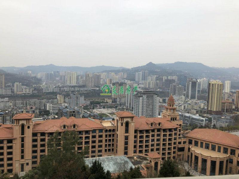 半山逸城B区花园洋房楼中楼、站阳台看整个巴中,大阳台可按揭