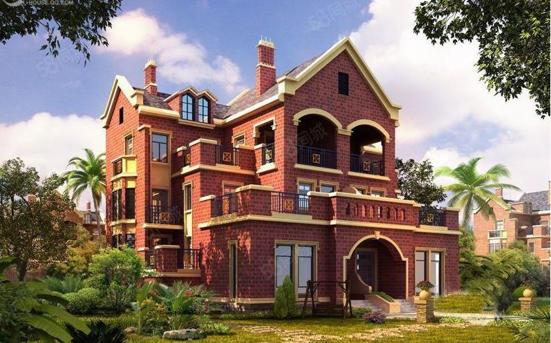 依山傍水英式独栋别墅300平前后花园工程抵款换合同费用少