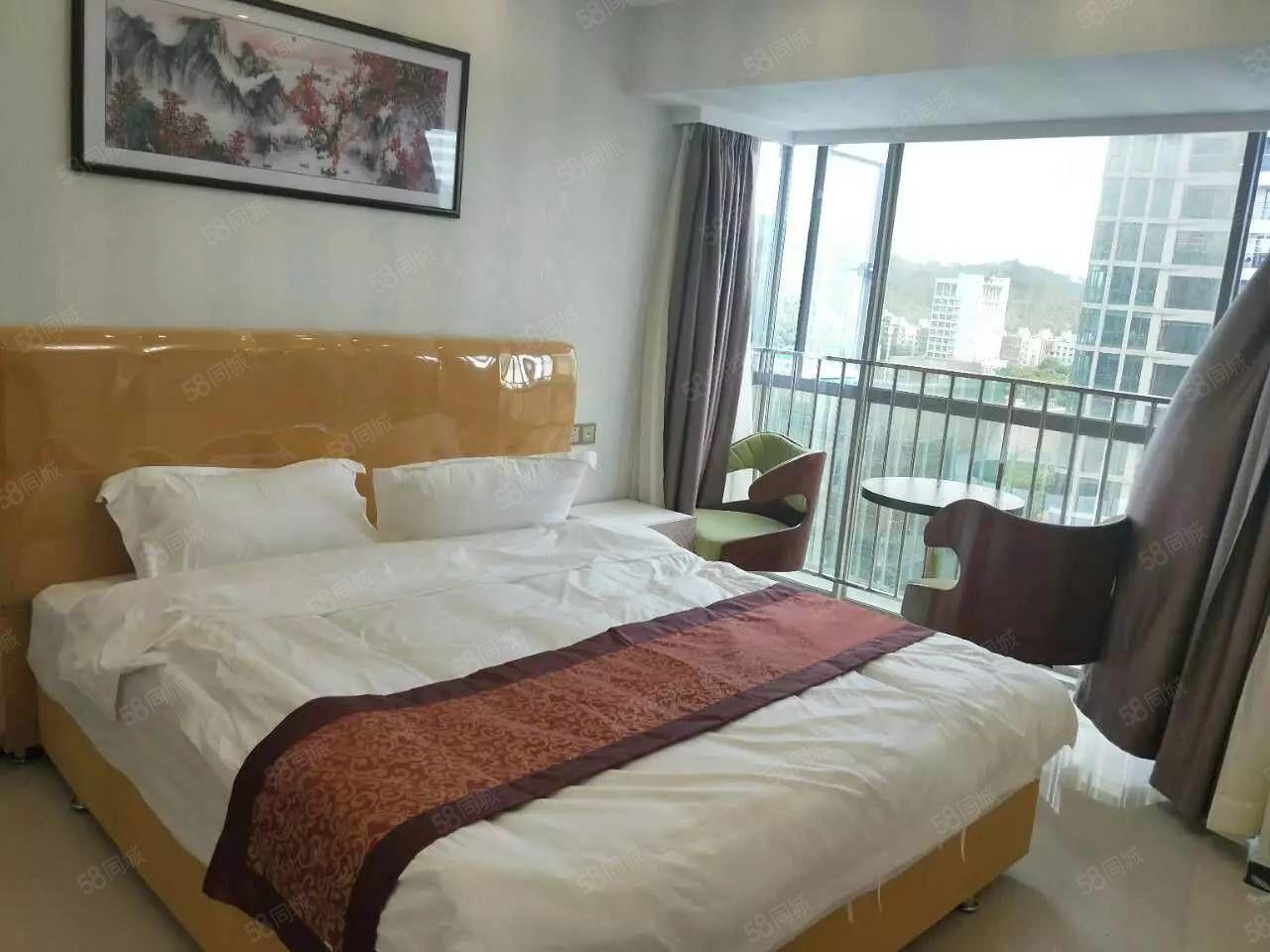 好宜多沃尔玛附近真实豪装一房一厅接受长租短租拎包入住