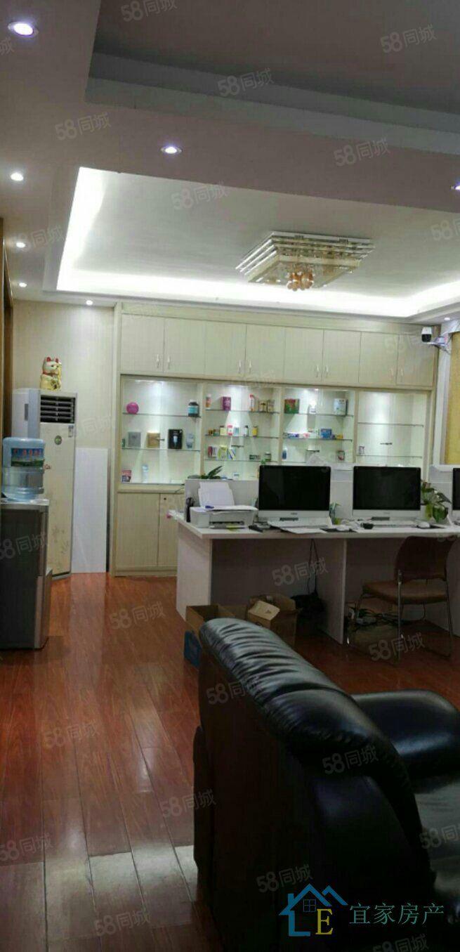江华国际4室2厅2卫,178平米,租金4200元/月,可办公