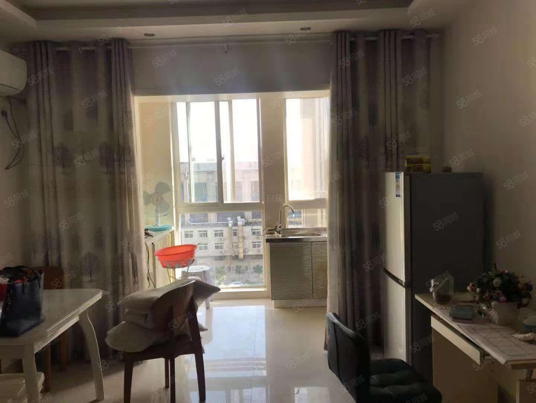 滨河湾精装公寓1100每月家电齐全可拎包入住看房方便