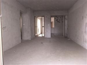 禧福新城毛坯两房可改三房带飘窗+2大阳台南北通透