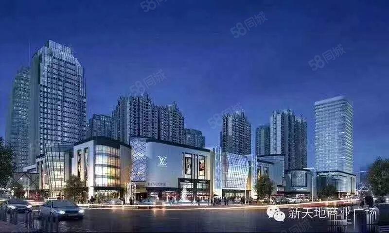 玉溪市中心新天地商铺地段好位置佳好投资!