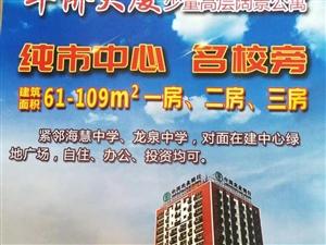 华侨大厦电梯多套毛坯龙泉高中房优价出售