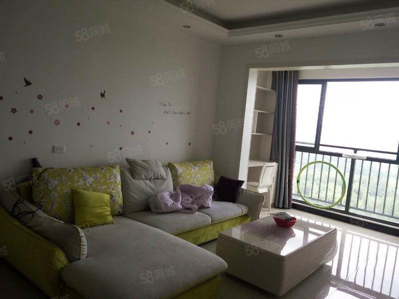 新领地新装修2室2厅拎包入住租1600