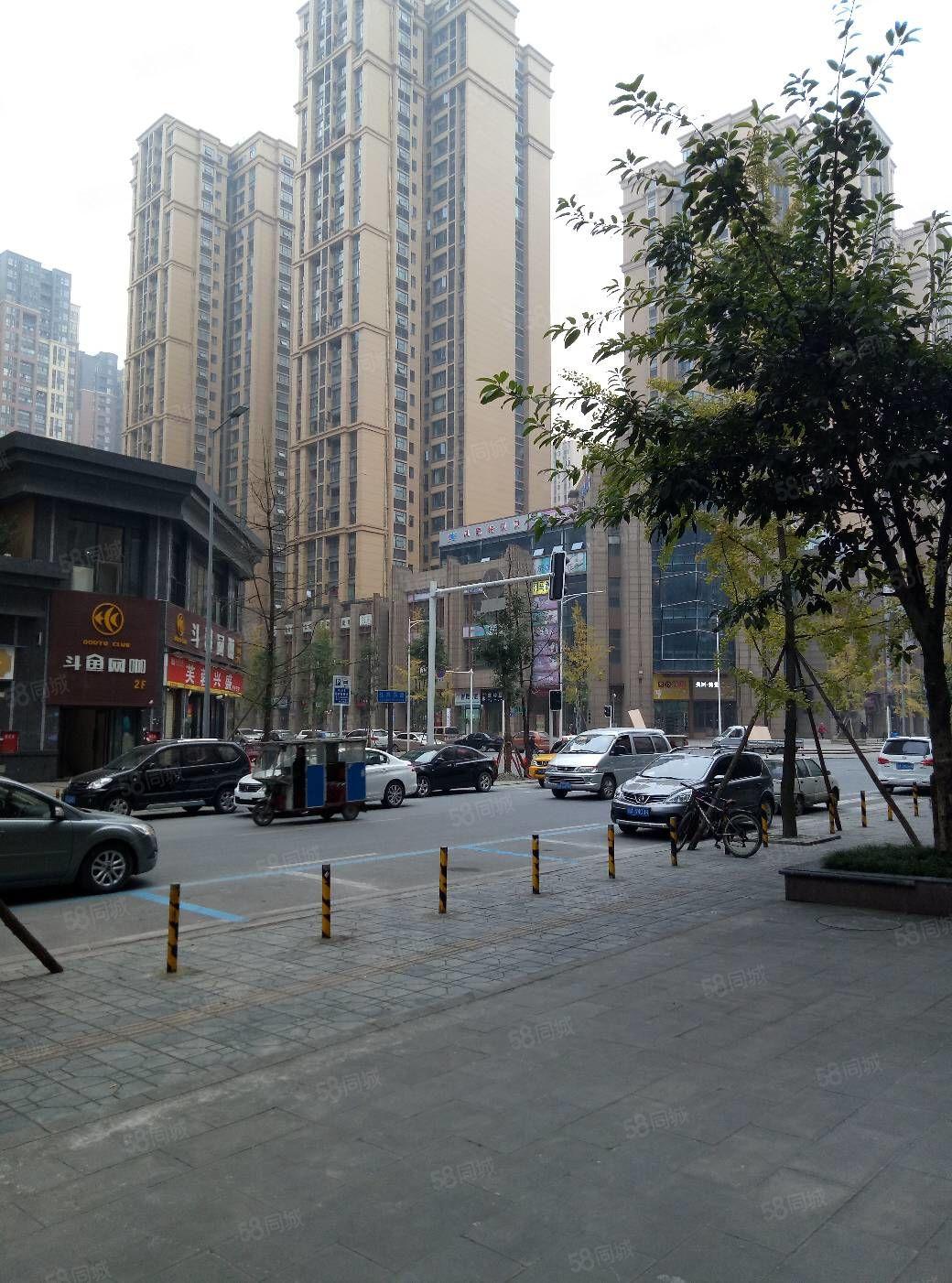 红光龙城国际地铁附近商铺小区正大门旁边常住人口5万