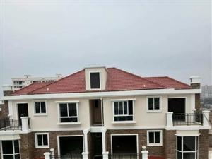 金棕榈庄园,双拼别墅,中空客厅,卧室都有卫生间和独立阳台