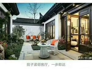 生态园附近,苏园小镇,别墅群,送超大庭院,特价150万一套