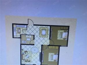 祝福红城双气地铁口三室两厅户型户型方正有房本随时过户