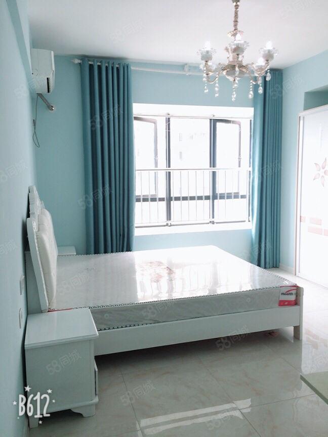 万达旁,可做饭,带阳台,精装单身公寓