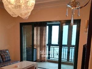 龙湖公园沿滩二小紫荆城邦旁恒大绿洲豪装3室带家电诚意出租