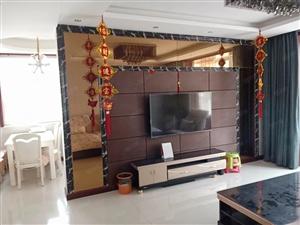 怡景华庭125平精装修三居室带家具家电送地下室