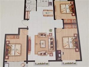兴隆苑两室86平带储藏室45万