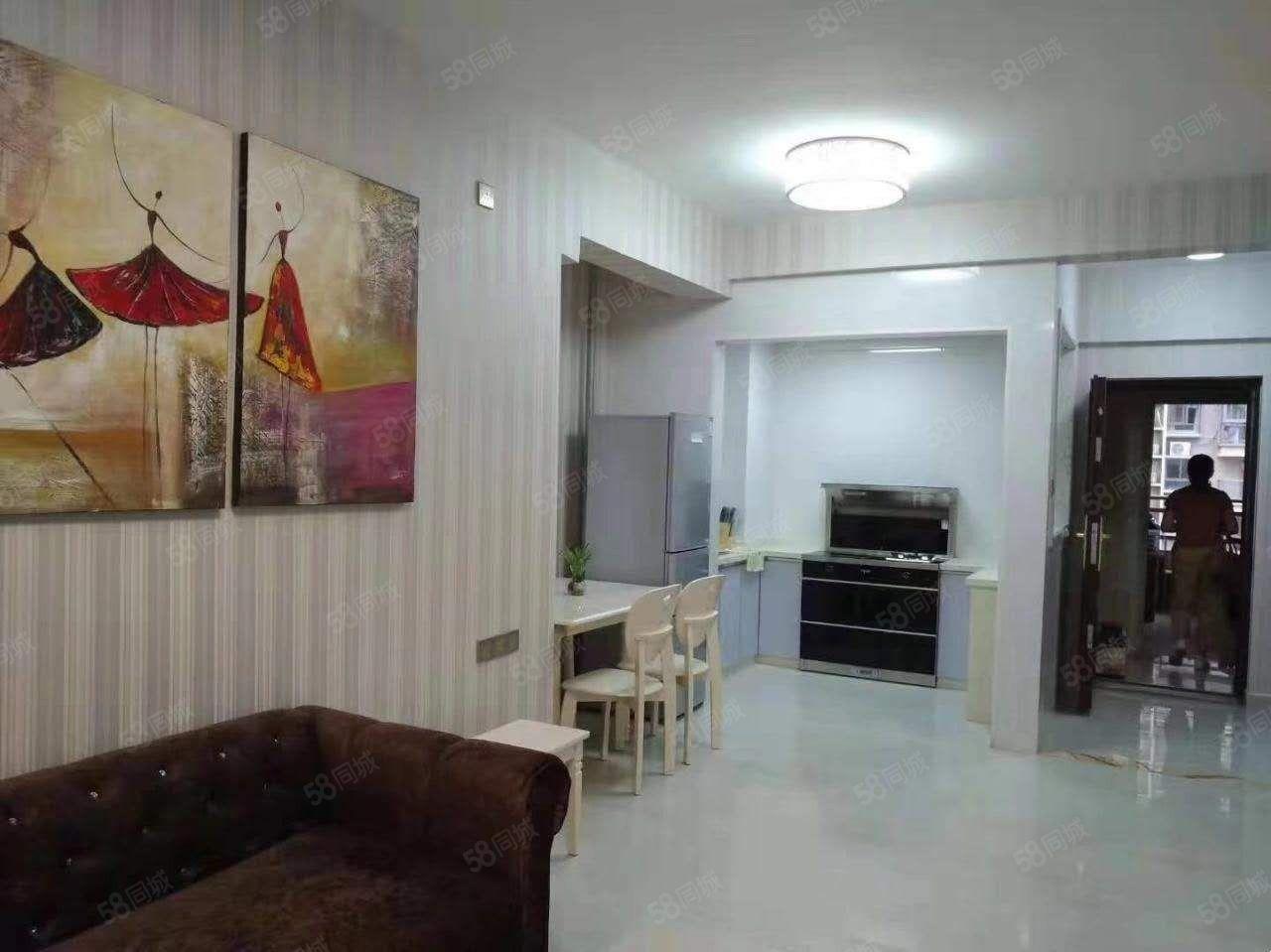 万达旁东湖豪门标准2房62平方设备齐全小区房