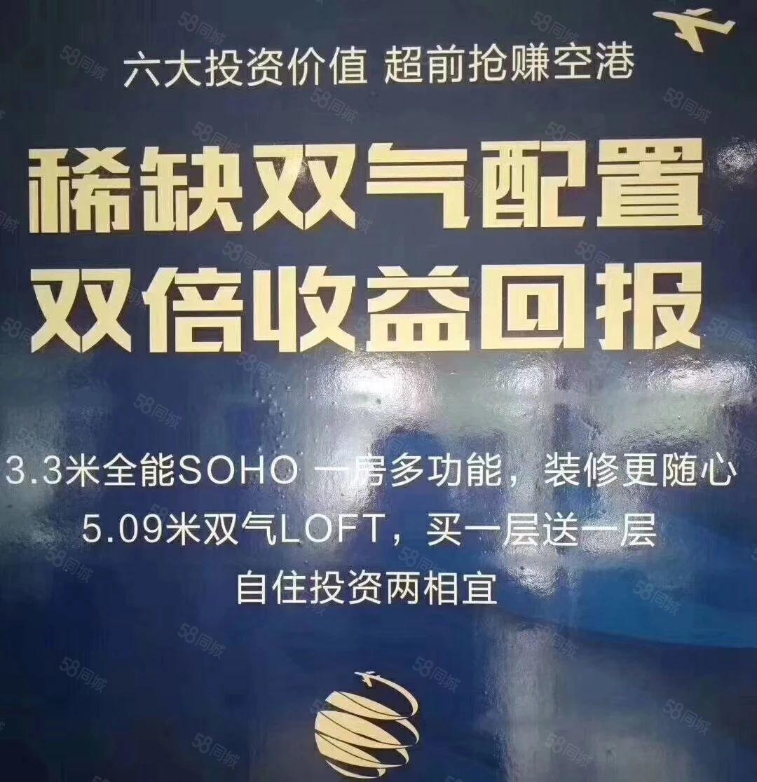 航空港小型公寓双气挑高5.09米loft单价9xxx