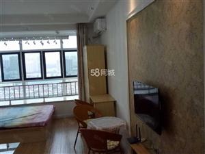 精装白领公寓一次没住过全新家具家电