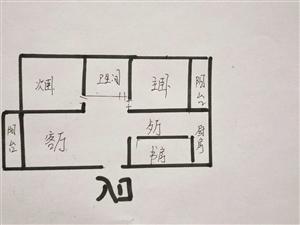 急售联华超市二楼阳光小区,126平米毛坯房40万