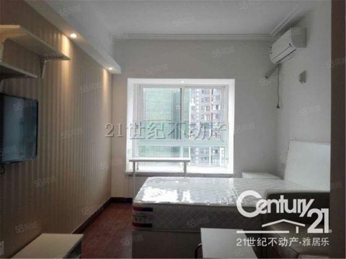傲城精装公寓6号地铁龙吟站出口,拎包入住,带空调二人居家