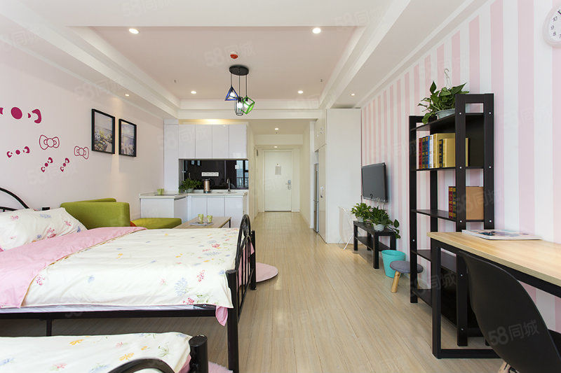 鹊巢公寓一个月起租/紧邻恩平湖地铁口富士康宿舍区