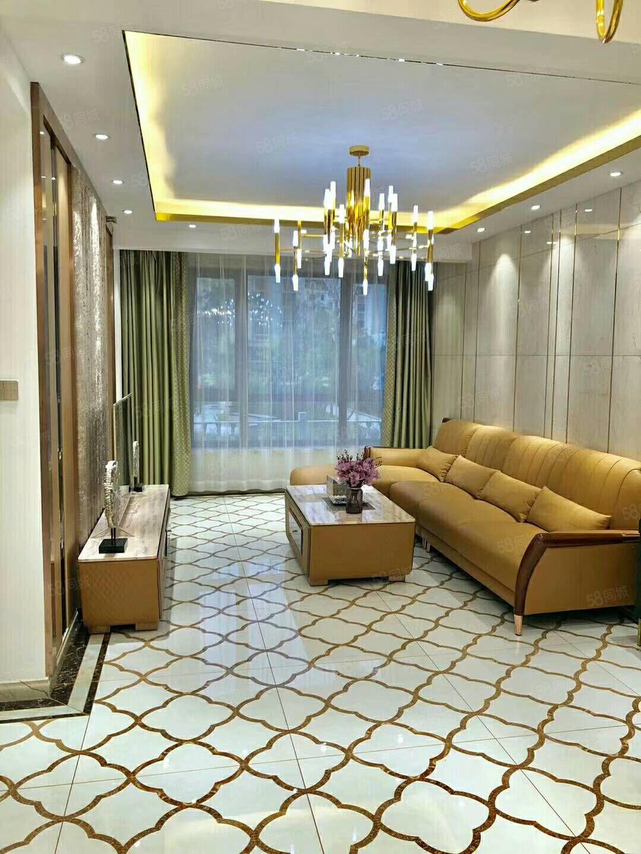 香槟庄园1楼加半地下加花园171平三室两厅拎包入住75万