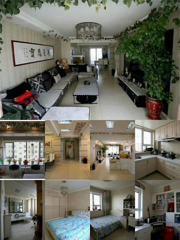 鑫隆永和居,三室两厅直通结构,豪华装修