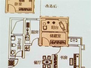 森林庄园二期11楼东户首付18.6万三居室