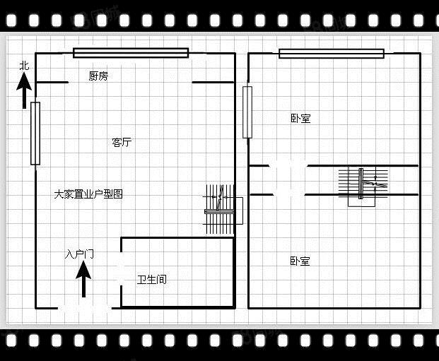 西现代城、枫杨外国语旁、划片学校45平、标间48万