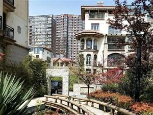 滨河国际别墅证过二毛坯房地下车位客厅挑高6米近水榭华庭