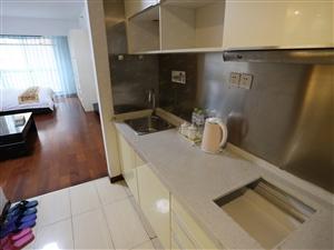 深蓝公寓3个月起2200个人大床月租月付精装拎包入住
