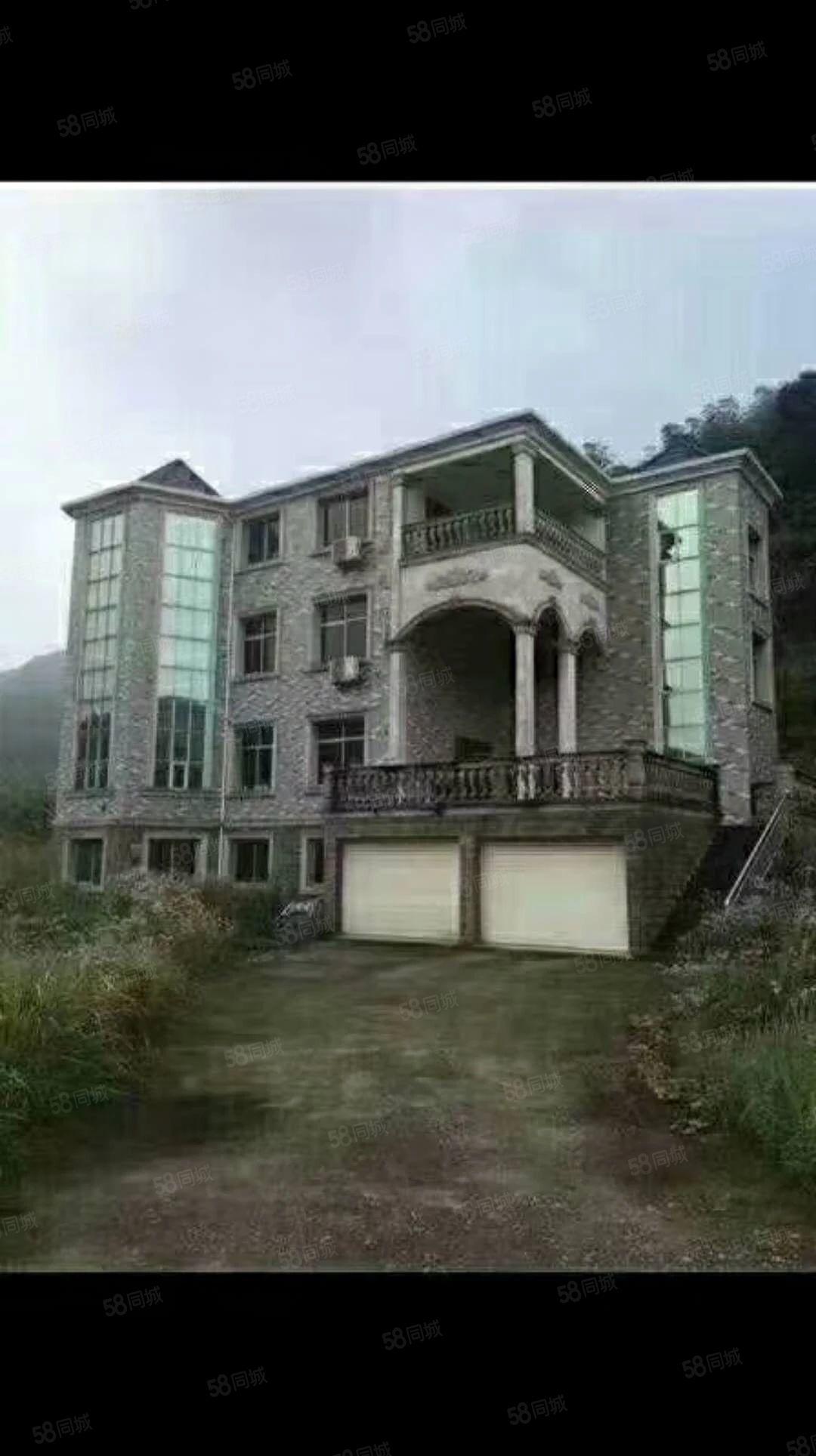 别墅2000平方的大院子依山傍水的生活证件在手直接看房