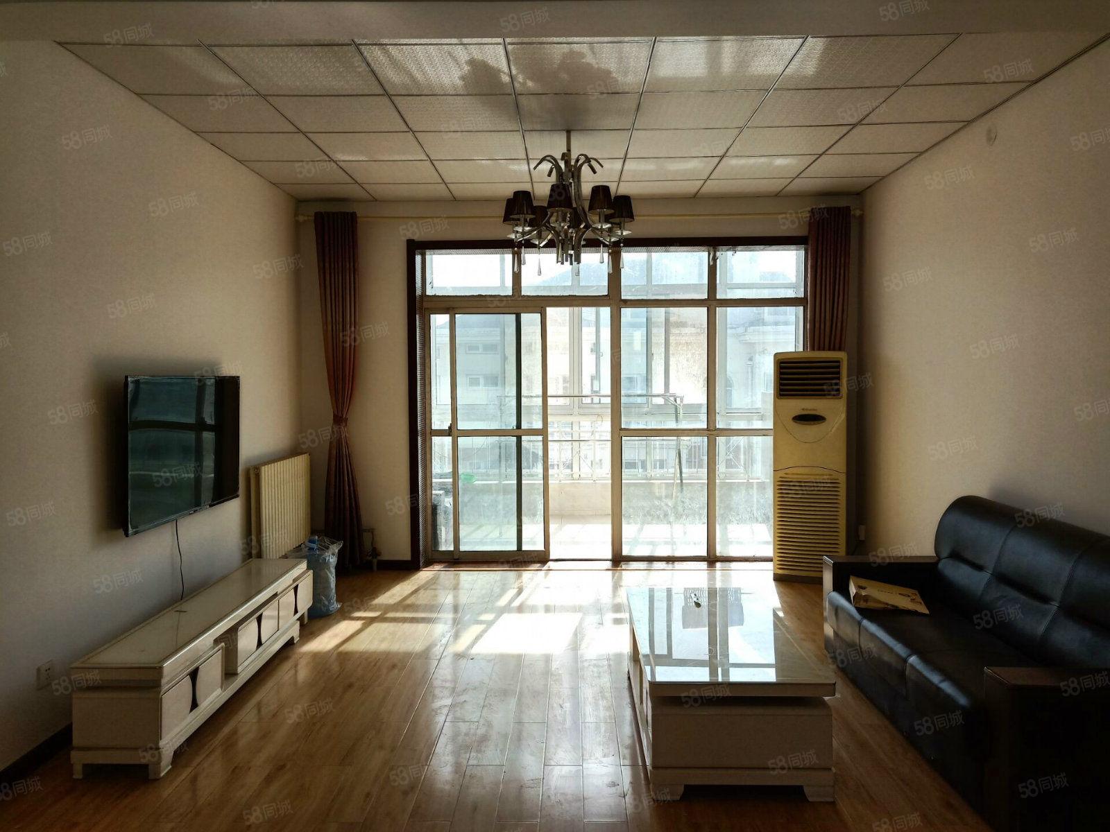 家具家电齐全有钥匙嘉德现代城精装修超大三室有配房