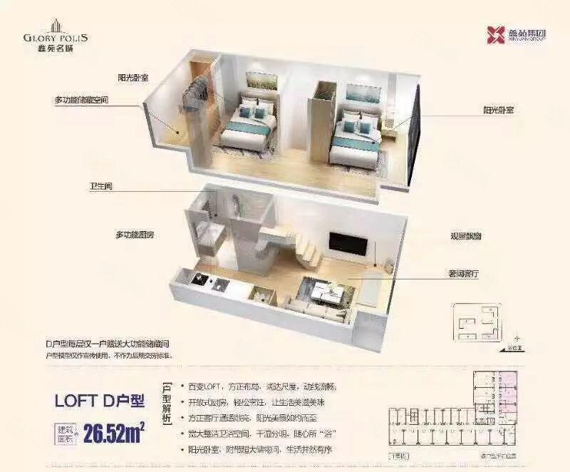 嵩山南路鑫苑名城精装修公寓均价9500送装修