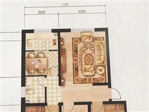 龙栖园3室2厅1卫