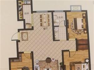 胜宏荣域悦湖湾小高层3室2厅1卫