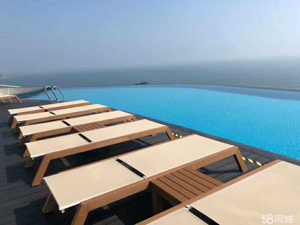 海陵岛中国网红天际泳池一线海景房。