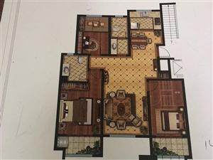 华建1街区3室2厅2卫花园洋房