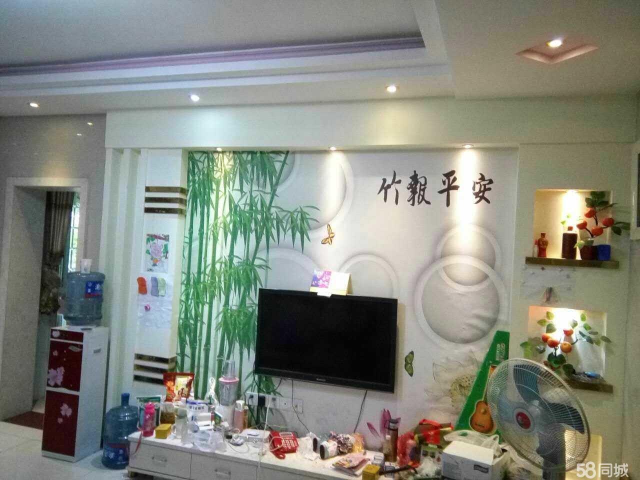 泸县河滨一号3室2厅2卫110�O精装好房出售!