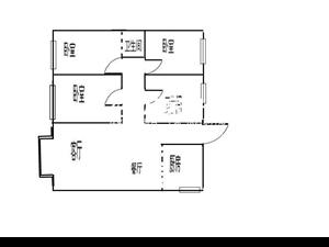 兴科金地3800元3室2厅2卫精装修,家具电器齐全非常
