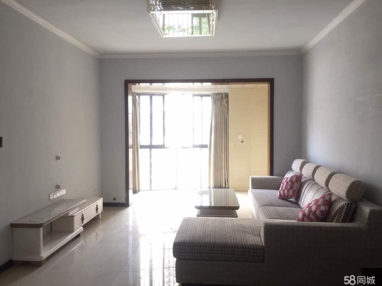 翰林名苑家具家电齐全两个空调中装两房有钥匙随时看房