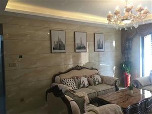 急售万达华城126平米3房2卫南北通透全新精装一套