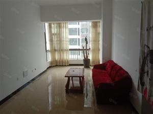 光大广场市中心、2室2厅1卫带有床、油烟机、热水器等家具出租