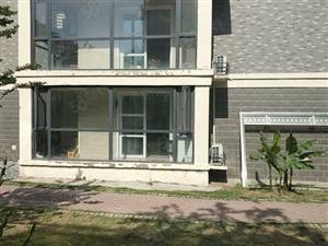 阜南城市花园一楼带院豪华装修121平方140万全款
