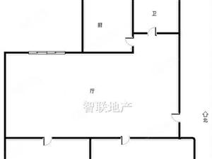 北京路与中州路口向阳小区74平精装二室首付12万即可入住